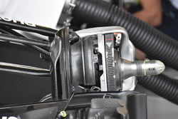 Williams FW40 front brake detail