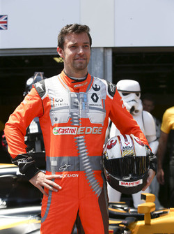 Jolyon Palmer, Renault Sport F1 Team, in his special Star Wars Rebel Spacesuit themed overalls