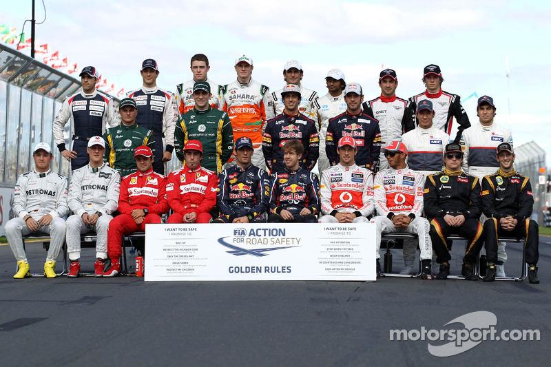 Пилоты Формулы 1 сезона-2012