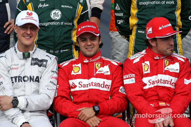 Felipe Massa, Scuderia Ferrari en Fernando Alonso, Scuderia Ferrari