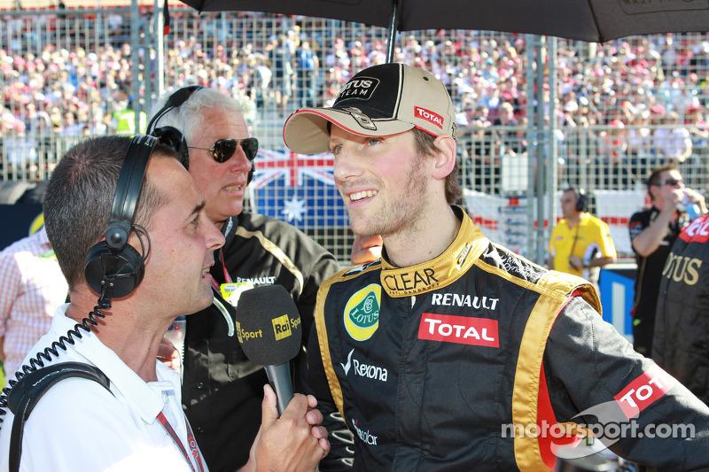 Romain Grosjean, Lotus Renault F1 Team