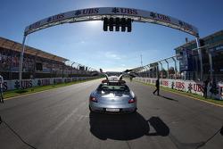 FIA Mercedes safety car