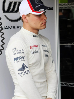 Valtteri Bottas, Williams Third Driver