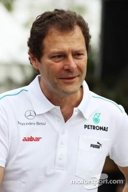 Aldo Costa, Mercedes GP Engineering Director