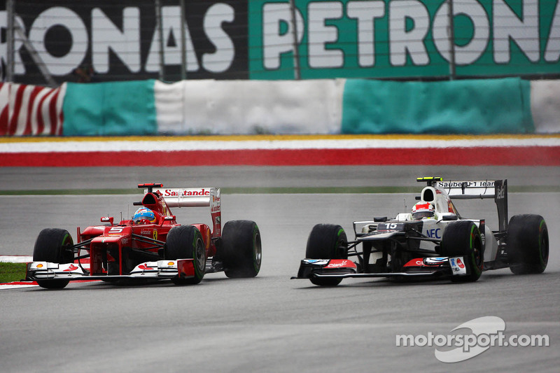 Гран При Малайзии-2012: дождевая победа на «Сепанге»