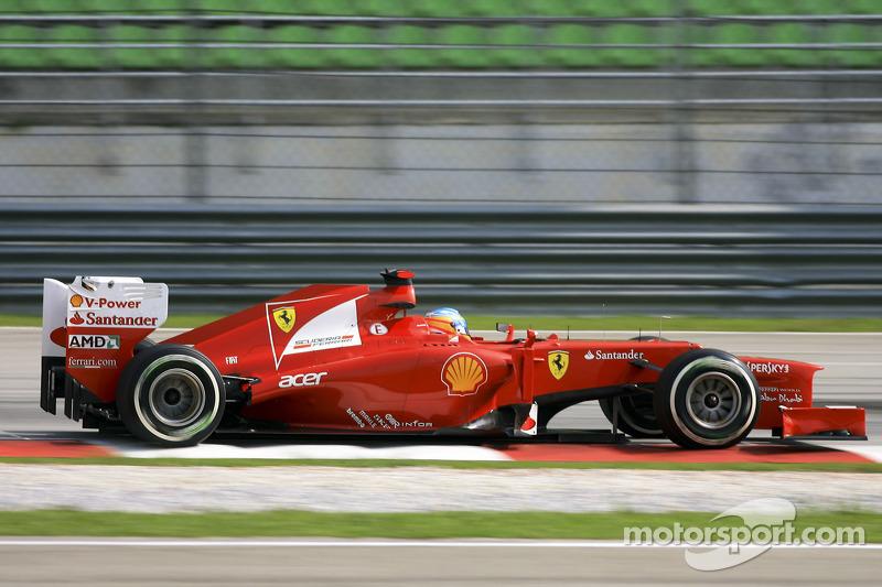 4º Fernando Alonso - 23 carreras - De Europa 2011 a Hungría 2012 - Ferrari
