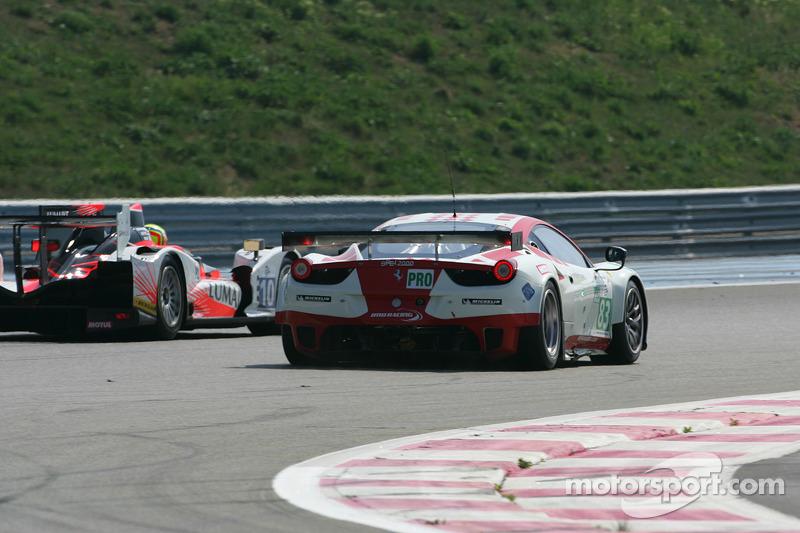 #83 JMB Racing Ferrari 458 Italia: Jaime Melo, Marco Frezza