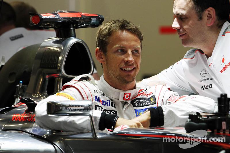Jenson Button, McLaren Mercedes MP4/27