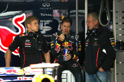 Heikki Huovinen, Personal Trainer of Sebastian Vettel, Red Bull Racing and Dr Helmut Marko, Red Bull Motorsport Consultant