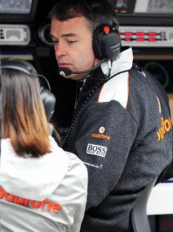 Dave Redding, McLaren Mercedes director deportivo