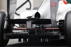 Mercedes AMG F1 rear diffuser detail
