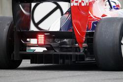 Scuderia Toro Rosso rear diffuser detail