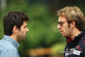 Jaime Alguersuari with Jean-Eric Vergne, Scuderia Toro Rosso