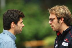 Jaime Alguersuari, BBC Radio 5 Live Expert Summariser with Jean-Eric Vergne, Scuderia Toro Rosso