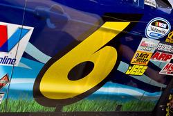 Car detail, Ricky Stenhouse Jr., Roush Fenway Ford