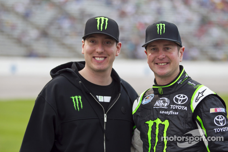 Kurt and Kyle Busch
