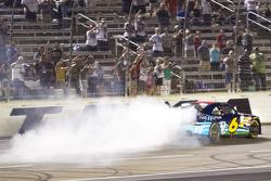 Race winner Ricky Stenhouse Jr., Roush Fenway Ford celebrates