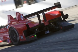 Schade op de #9 RSR Racing Oreca FLM09: Bruno Junqueira, Tomy Drissi
