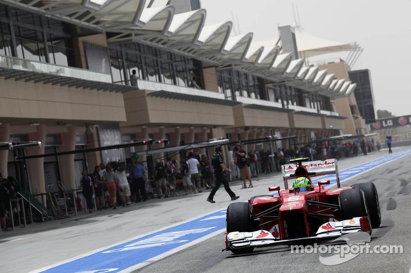 Felipe Massa, Scuderia Ferrari uit de pits
