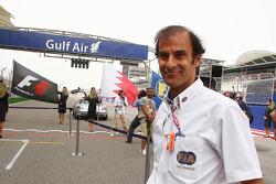 Эмануэле Пирро. ГП Бахрейна, Воскресенье, перед гонкой.