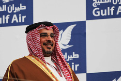Zayed Rashed Al Zayani, Chairman of Bharain International Circuit