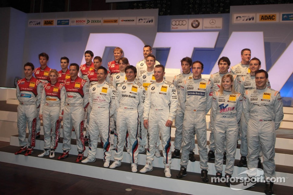 All 2012 DTM drivers