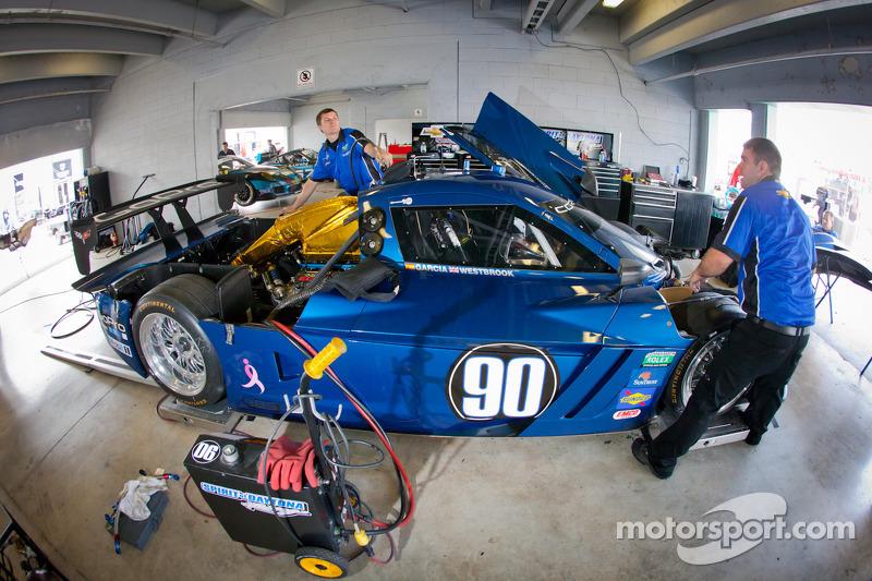 #90 Spirit of Daytona Chevrolet Corvette DP