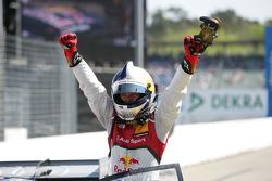 Pole position for Mattias Ekström, Audi Sport Team Abt Sportsline, Audi A5 DTM