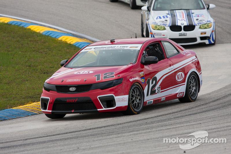#12 Kinetic/Kia Racing KIA Forte Koup: Mathew Pombo, Marc Pombo