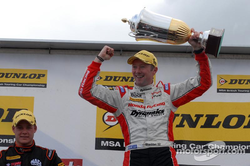 Round 9 Race Winnaar Gordon Shedden, Honda Yuasa Racing