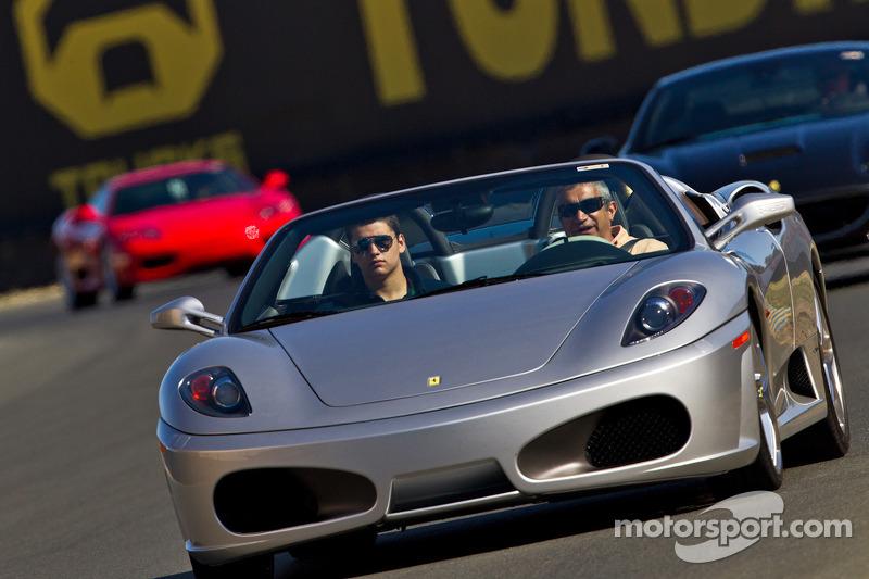 Ferrari wigenaar op Infineon