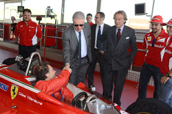 Jacques Villeneuve and Piero Ferrari