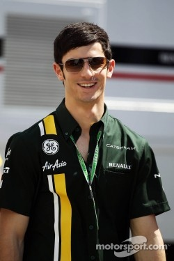 Alexander Rossi, Caterham F1 Test Driver