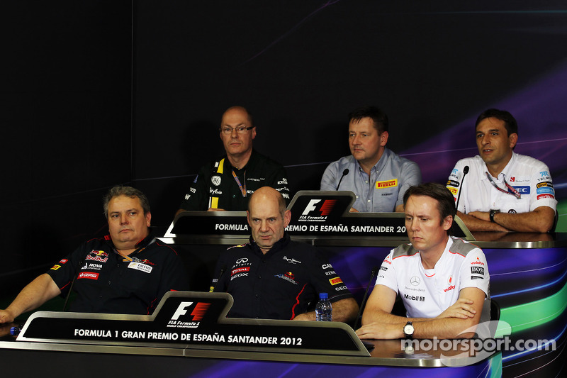 The FIA Press Conference: Mark Smith, Caterham F1 Team Technical Director
