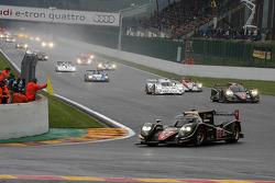 Pace lap, #12 Rebellion Racing Lola B12/60 Toyota: Nicolas Prost, Neel Jani, Nick Heidfeld