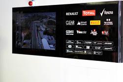 Lotus F1 Team garage detail