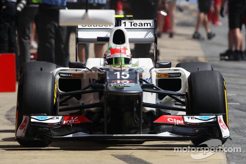 Серхио Перес еще не совершил свой поход в McLaren