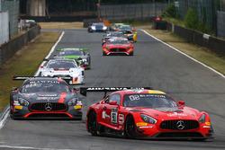 #90 Akka ASP Mercedes AMG GT3: Michael Meadows, Raffaele Marciello