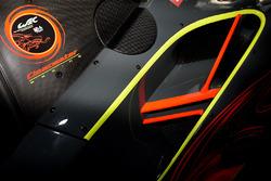 #61 Clearwater Racing Ferrari 488 GTE detail