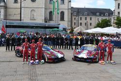 №51 AF Corse Ferrari 488 GTE: Джеймс Каладо, Алессандро Пьергвиди, Микеле Руголо; №71 AF Corse Ferrari 488 GTE: Давиде Ригон, Сэм Бёрд, Мигель Молина