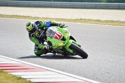 #71 motomaxx Racing Team, Kawasaki: Vladimir Ruza, Juraj Knezovic, Jakub Jantulik