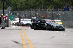 Unfall: Bernd Mayländer, AMG Mercedes Benz CLK DTM