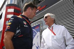 د.هيلموت ماركو، مستشار فريق ريد بُل ريسينغ وبيرني إكليستون، الرئيس الفخري للفورمولا واحد