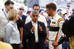 Susie Wolff, Channel 4 F1, Sadiq Khan, maire de Londres, Jenson Button, McLaren