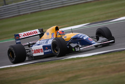 Karun Chandhok dans la Williams FW14B Renault