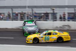 Guillaume Dumarey, PK-Carsport Chevrolet dreht sich vor  Felipe Rabello, CAAL Racing Chevrolet