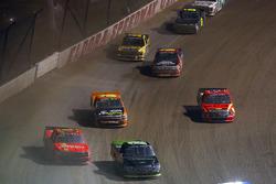 Austin Cindric, Brad Keselowski Racing Ford and Max Johnston, Young Motorsports Chevrolet