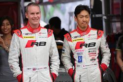 リチャード・ライアンと柳田真孝(#21 Hitotsuyama Audi R8 LMS)