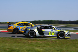 #08 Limitless Racing SCDA1.Com Audi R8 Grand-Am: Elivan Goulart, Jason Lee - #94 Turner Motorsport BMW M3: Bill Auberlen, Paul Dalla Lana, Billy Johnson