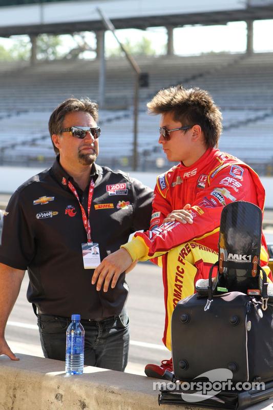 Michael Andretti, Sebastian Saavedra, AFS Racing/Andretti Autosport